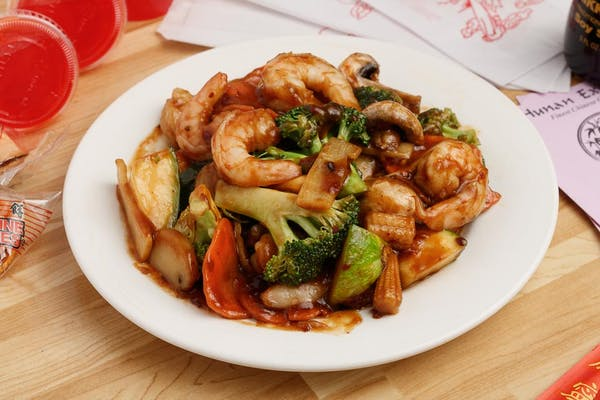 9. Hunan Shrimp (Lunch)