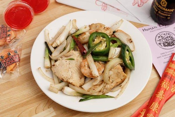 27. Jalapeño Chicken or Shrimp (Lunch)