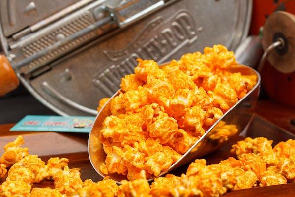 Cheddar Buffalo Popcorn