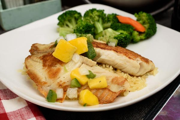 Grilled Tropical Tilapia