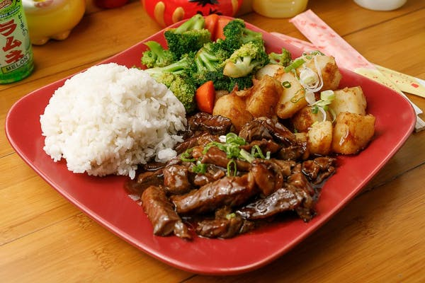 Lunch Teriyaki Beef