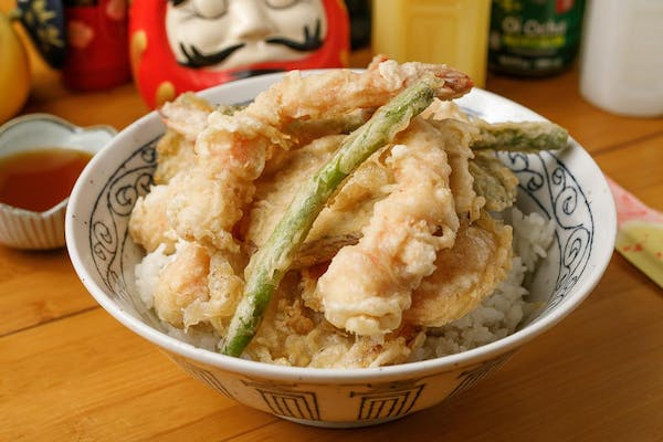 Lunch Tendon Tempura