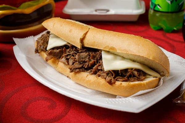 Plain Cheesesteak Sub
