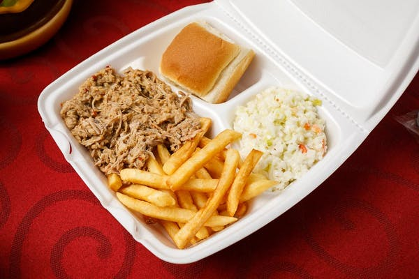 BBQ Lunch Plate