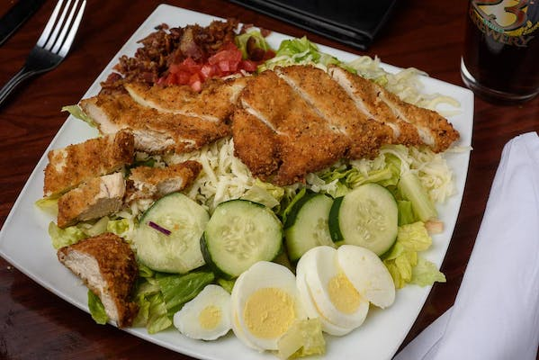 Crown's Fried Chicken Cobb Salad