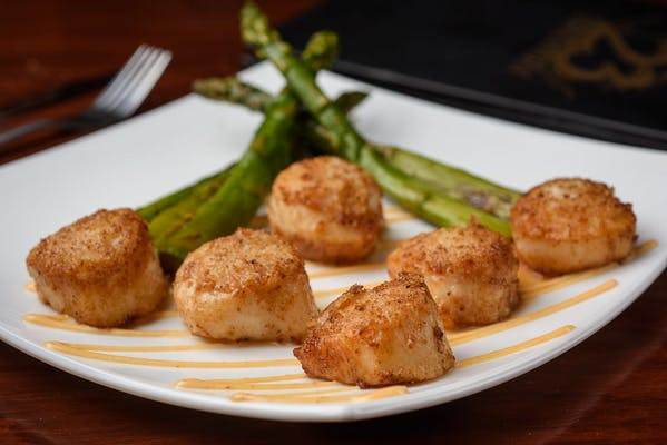 Brewery Seared Scallops