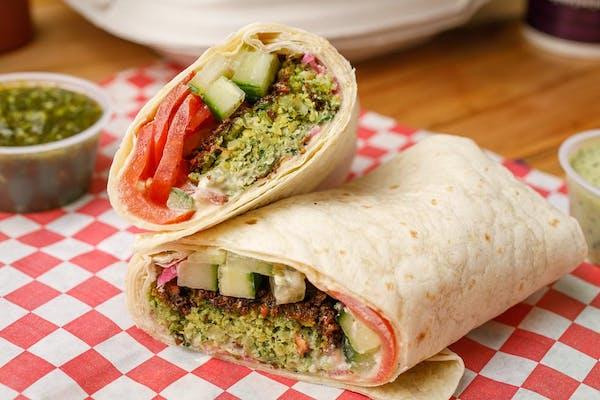 Veggie Falafel Wrap