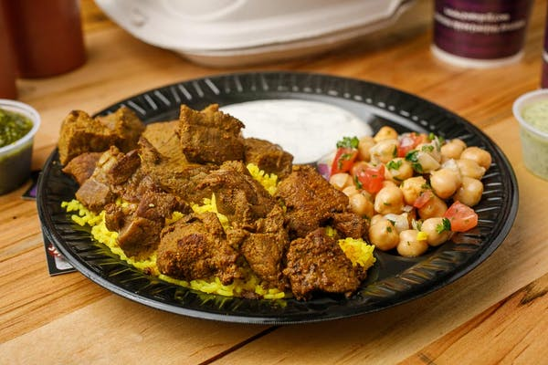 Lamb Kabob Platter