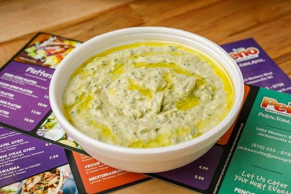 Jalapeño Cilantro Hummus & Pita