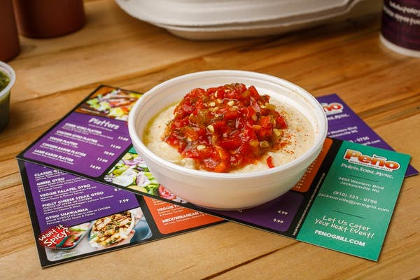 Spicy Hummus & Pita