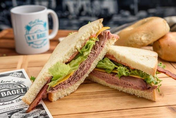 Roast Beef & Cheddar Sandwich