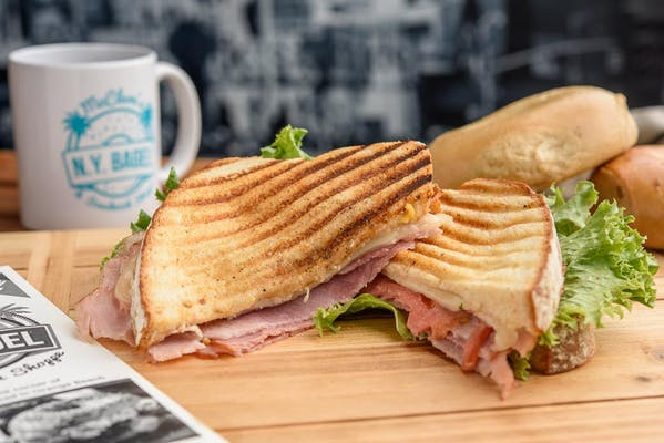 Grilled Ham & Swiss Sandwich