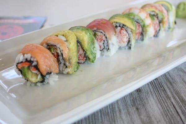 (R16) Rainbow Roll