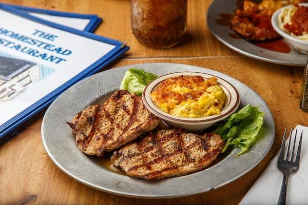 Grilled Center-Cut Pork Chops