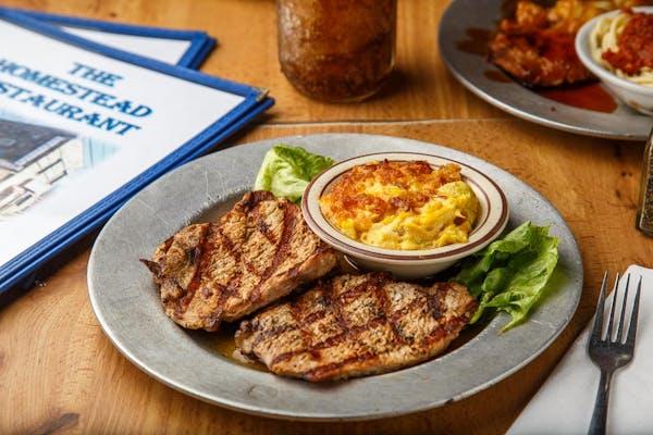 Boneless Grilled Pork Chops Special