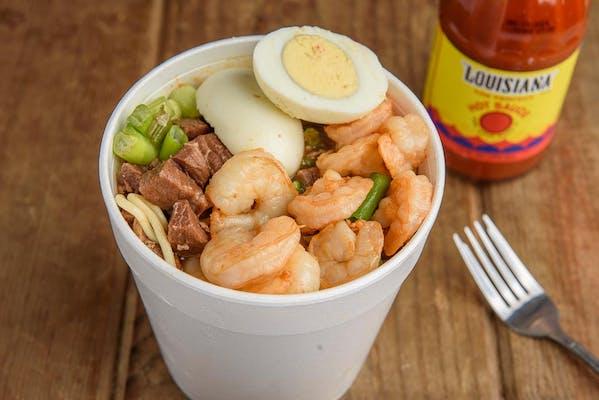 Beef & Shrimp Yaka Mein