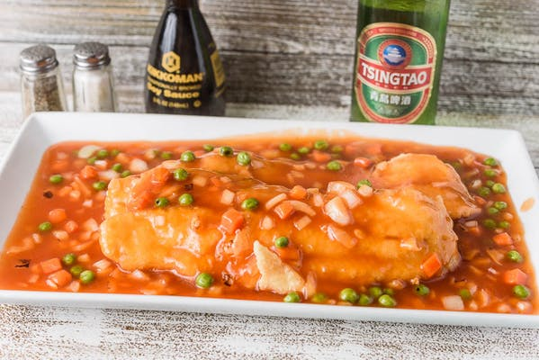 SF15. Fish Fillet with Sweet & Sour Sauce