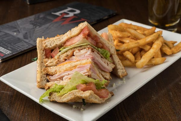 Whiskey's Club Sandwich