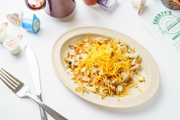 Hash Browns with Onions & Cheese
