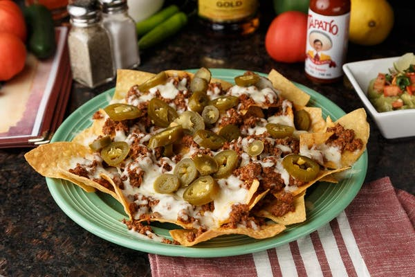 Beef or Chicken Nachos
