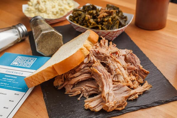 Pit Smoked Turkey Plate