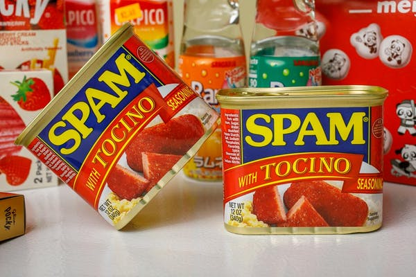 Spam with Tocino
