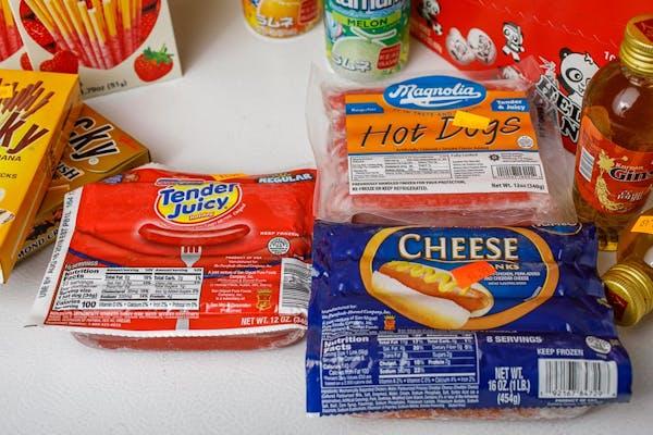 Tender Juicy Hot Dogs