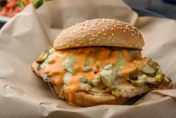 Firehouse Chicken Sandwich