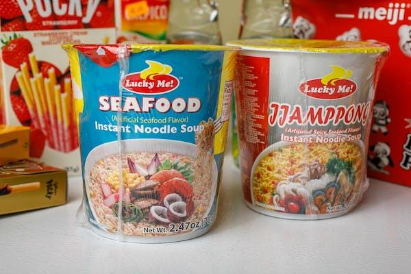 Seafood & Jjamppong Instant Noodle Soup