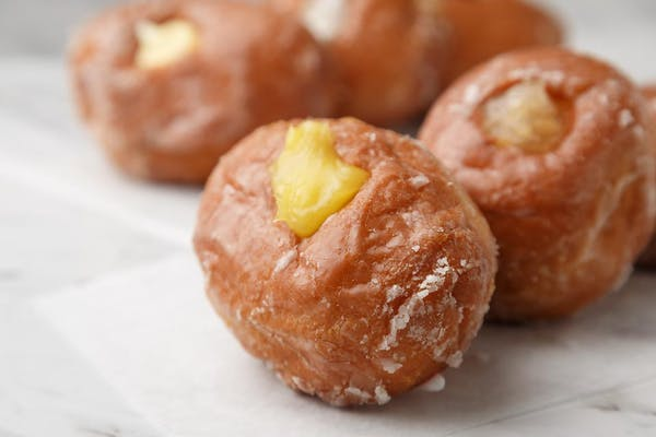 Lemon Jelly-Filled Donut
