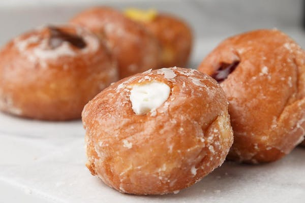 Cream-Filled Donut