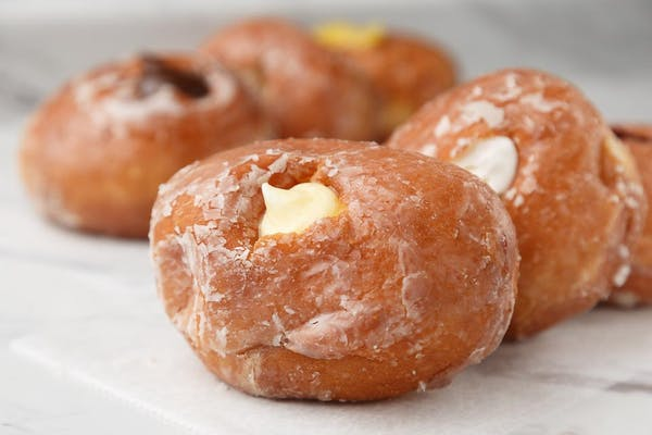 Custard-Filled Donut