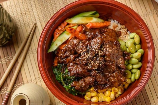 Beef Poké Bowl