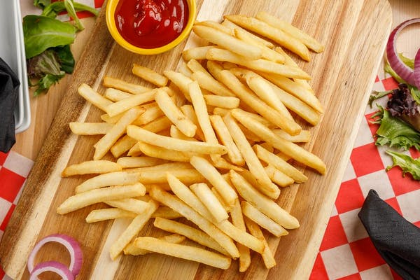 Slice of Pizza & Fries (Lunch)
