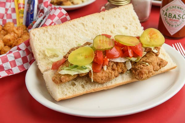 Chicken Tender Po-Boy