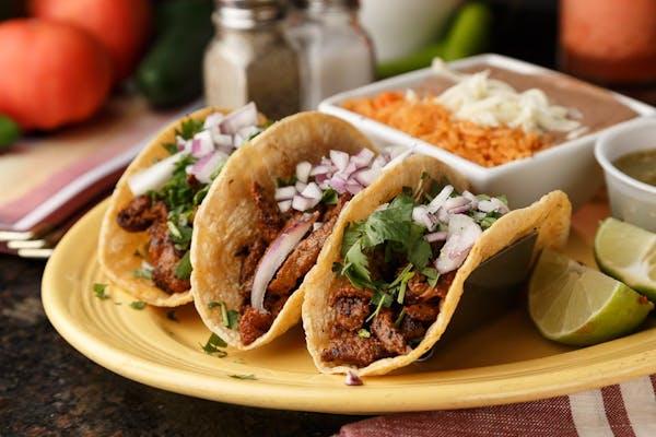 Al Carbon Steak Tacos