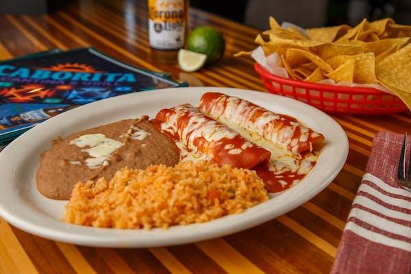 Enchiladas de Tomatillo