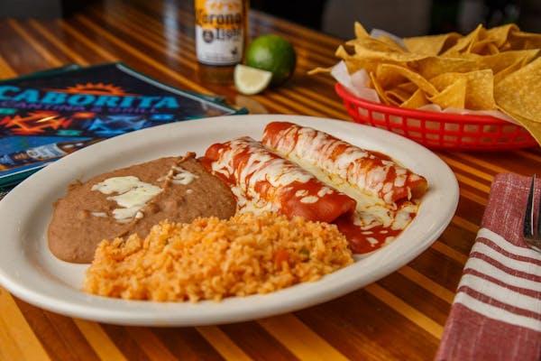 Enchilada Burrito Dinner