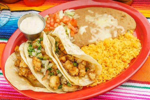 La Cantina Shrimp Tacos