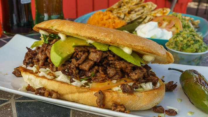 Asada Torta (Steak)