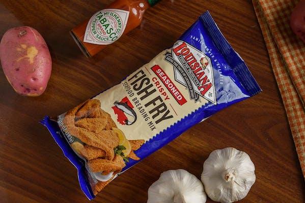 Louisiana Fish Fry (Crispy Shrimp)