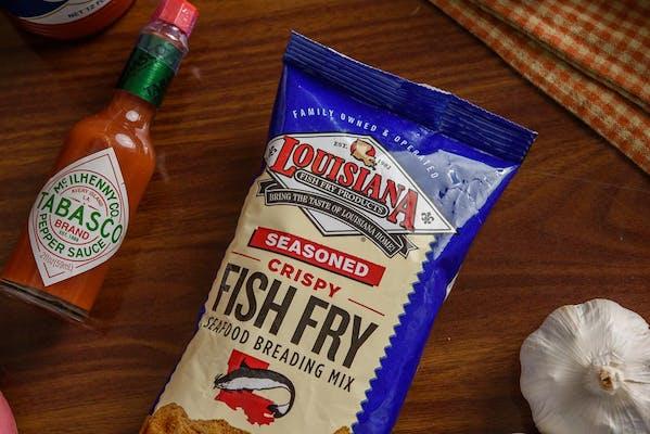 Louisiana Fish Fry (Seasoned Crispy Fish)
