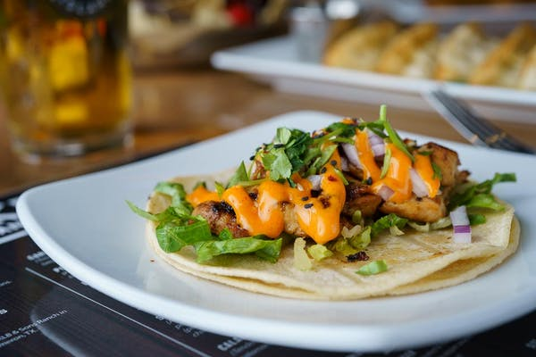 Korean BBQ Gogi Taco