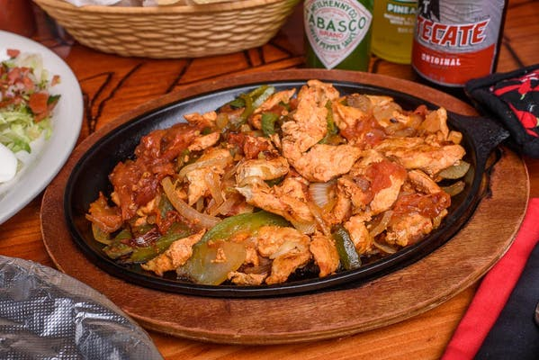 Fajitas with Beef or Chicken