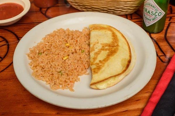 1. Kid's Taco, Rice & Beans