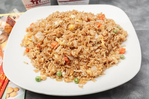 12. Plain Fried Rice