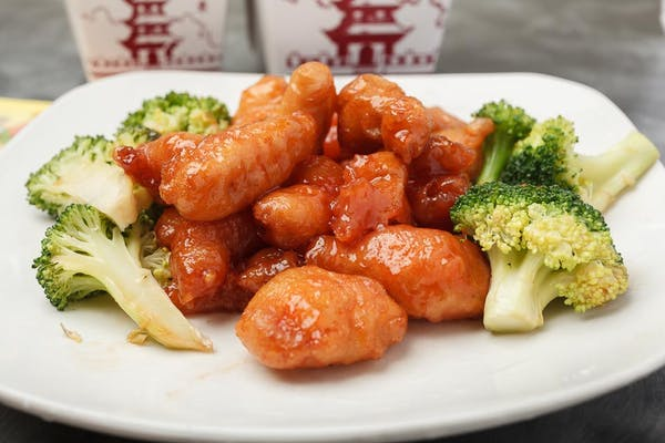 C15. Honey Chicken