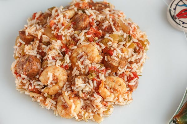 Shrimp, Chicken & Sausage Jambalaya