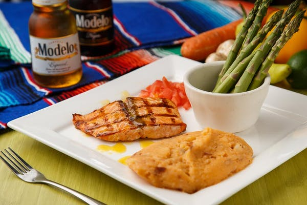 Tropical Tequila Salmon