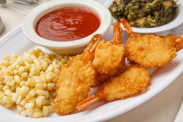 (6 pc.) Jumbo Breaded Shrimp Dinner